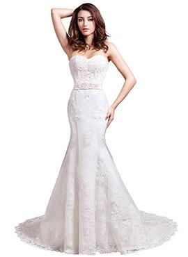 Bridesire Corte Sirena Vestidos Corte Sirena Hermosos