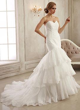 reunirse promoción especial paquete elegante y resistente Bridesire - Corte Sirena, Vestidos corte sirena: hermosos ...