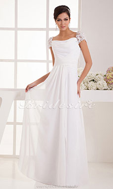 Vestidos de novia de blonda cortos